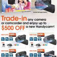 Read more about Sony Handycam Up To $500 Off Trade-In Promo Offer 1 Aug - 8 Sep 2013
