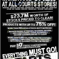 Read more about Courts Megastore Warehouse Sale Offers 16 - 18 Aug 2013
