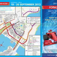 Read more about F1 2013 Road Closures in Singapore 18 - 24 Sep 2013