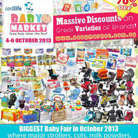 Read more about Baby Market Fair 2013 Up To 70% Off @ Singapore Expo 4 - 6 Oct 2013
