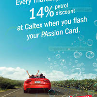 Read more about Caltex 14% Off Petrol Discount For Passion Cardmembers (Thursdays) 4 Jul - 26 Dec 2013