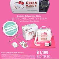 Read more about Casio EXILIM x Hello Kitty TR10 Restock @ Selected Outlets 26 Sep 2013