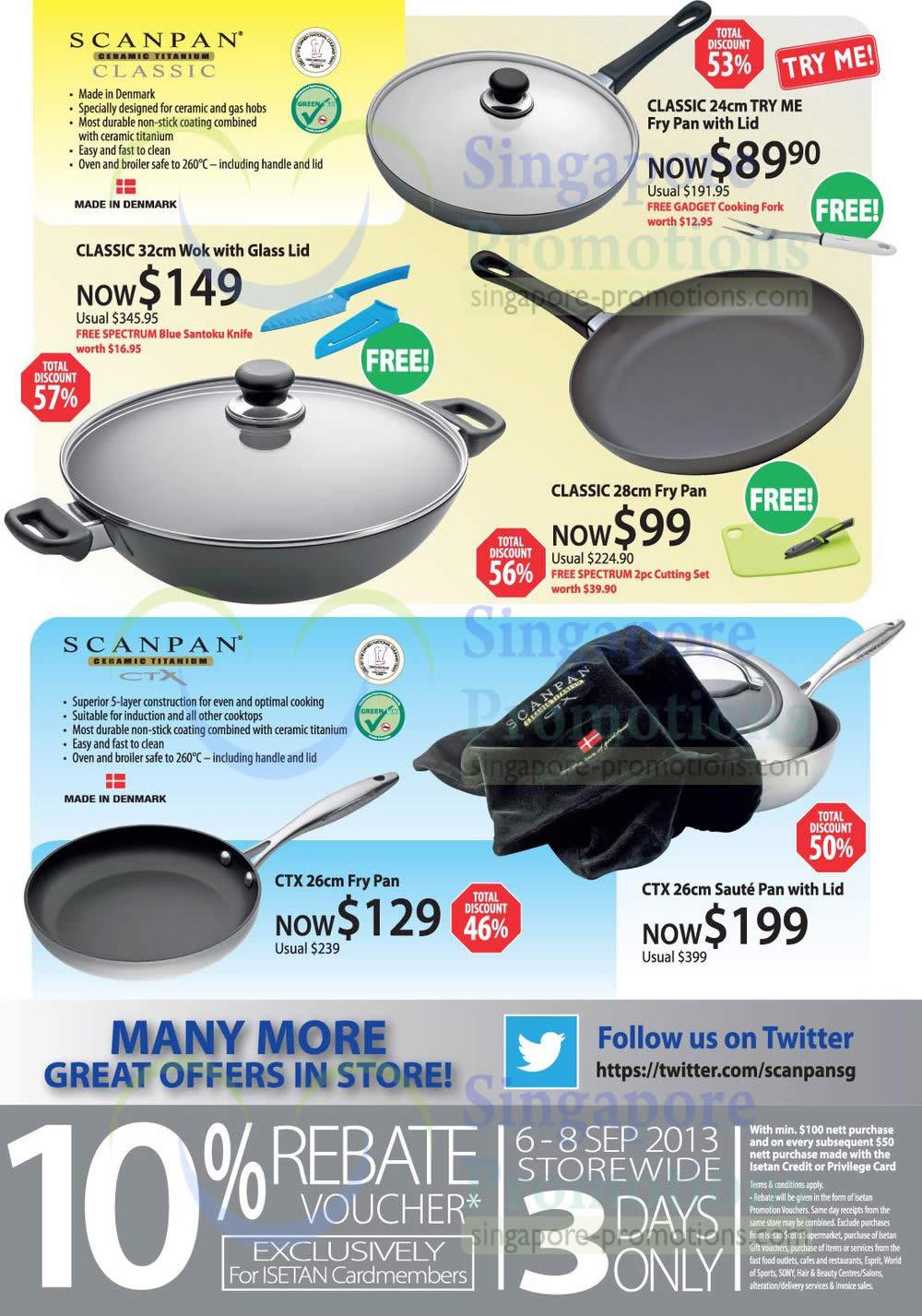 Classic Work, Pan, Fry Pan, CTX Fry Pan, Saute Pan
