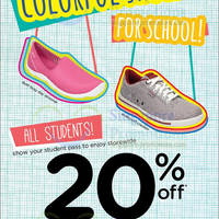 Read more about Crocs 20% OFF Storewide For Students 16 - 22 Sep 2013