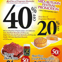 Read more about Fragrance Foodstuff Bakkwa & More Weekend Promo Offers 12 - 15 Sep 2013