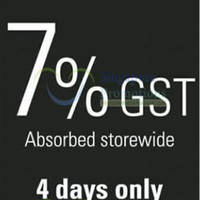Read more about GNC 7% GST Absorbed Storewide Promo 26 - 29 Sep 2013