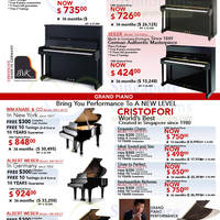 Read more about Cristofori Warehouse SALE @ Bedok Industrial Park E 13 - 15 Sep 2013
