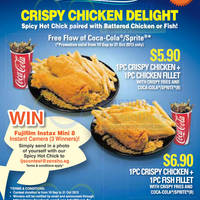 Read more about Long John Silver's NEW Crispy Chicken 23 Sep 2013