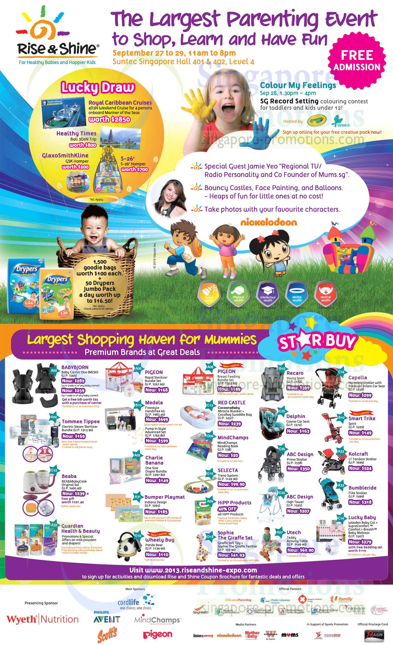 Lucky Draw, Event Highlights, Premium Brands, Stay Buys