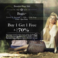 Read more about Luxury City Branded Handbags Sale Up To 70% Off @ Bugis+ 12 - 15 Sep 2013