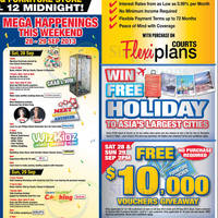Read more about Courts Megastore & Islandwide Grand Opening SALE 28 - 29 Sep 2013