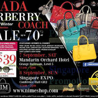 Read more about Nimeshop Branded Handbags, Footwear & Sunglasses Sale Up To 70% Off 7 - 8 Sep 2013