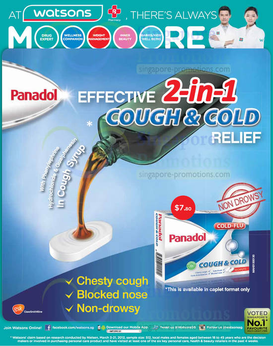 Panadol Cough n Cold Relief