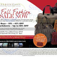 Read more about Reebonz End of Season Clearance SALE @ Clifford Centre 27 Sep 2013