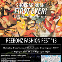 Read more about Reebonz Fashion Fest @ Marina Bay Cruise Centre 27 - 29 Sep 2013