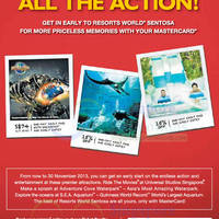 Read more about Resorts World Sentosa MasterCard Special Offers 11 Sep - 30 Nov 2013