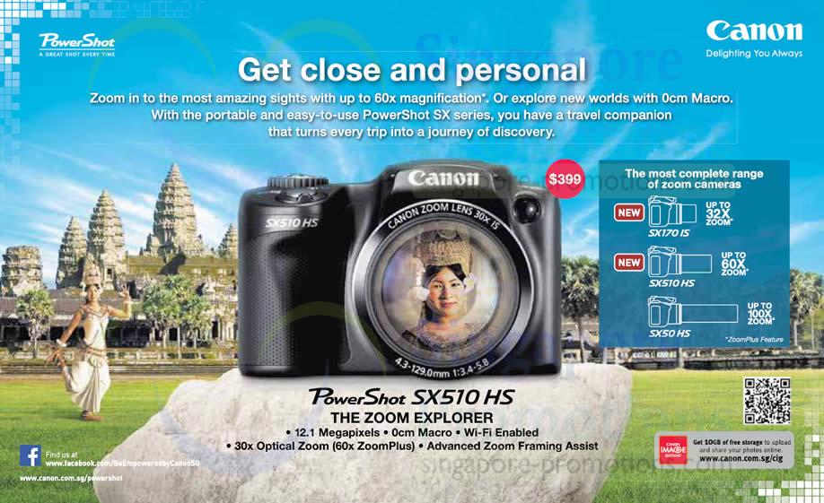 SX510 HS Features