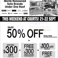 Read more about Courts Two days Clearance Sale Offers 21 - 22 Sep 2013