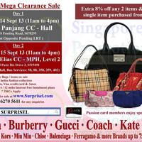 Read more about Surprisel Branded Handbags Sale Up To 75% Off 14 - 15 Sep 2013