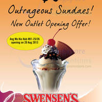 Read more about Swensen's $6 Outrageous Sundae Offer @ AMK Hub 20 Aug - 29 Sep 2013