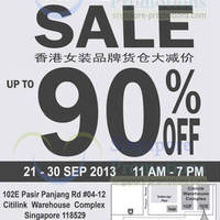 Read more about Veeko, Wanko Warehouse SALE Up To 90% Off 21 - 30 Sep 2013
