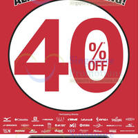 Read more about World of Sports 40% Off Almost Everything Promo 6 Sep 2013