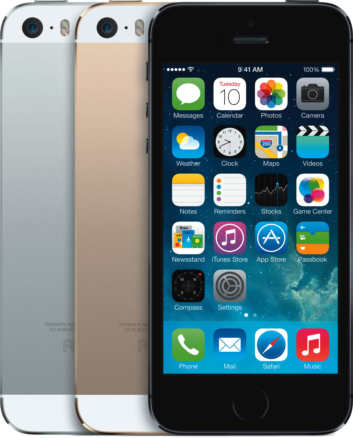 iPhone 5S 3 Colours