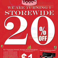 Read more about Choco Express 20% OFF Storewide Promo @ All Outlets 1 - 31 Oct 2013