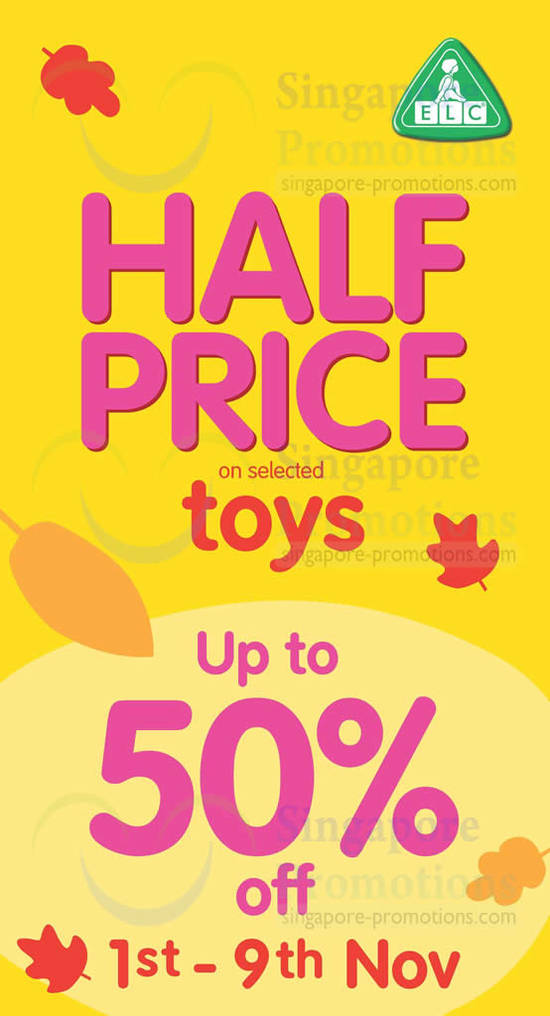 31 Oct Up to 50 Percent Off