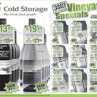 Read more about Cold Storage Wines 3 Day Special Offers 25 - 27 Oct 2013