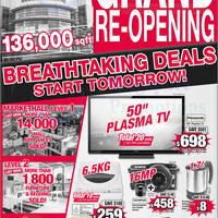 Read more about Courts Grand Opening Promotion 4 - 6 Oct 2013