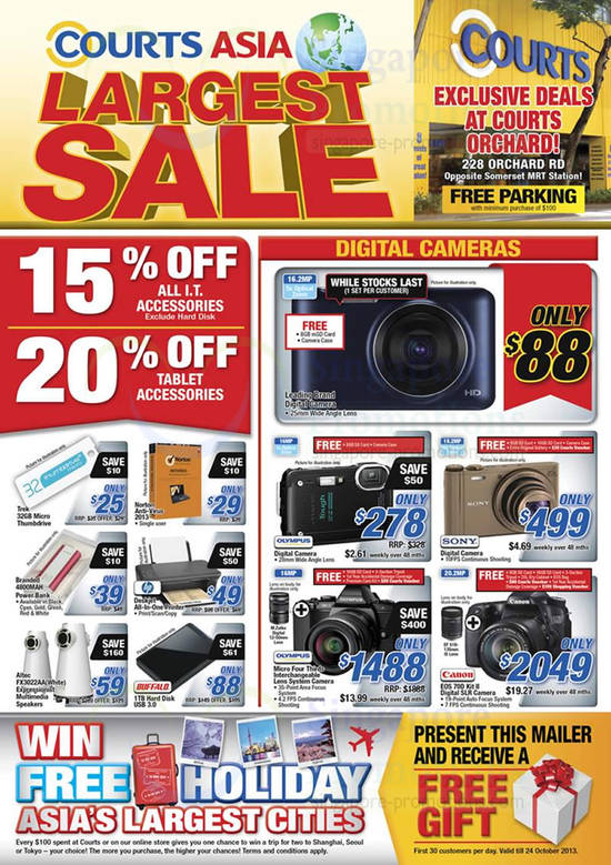 Digital Cameras, IT Accessories