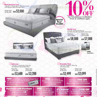 Read more about Takashimaya King Koil, Dunlopillo & Tempur Mattress Offers 4 - 27 Oct 2013
