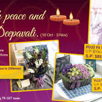 Read more about Far East Flora 20% Off Deepavali Flower Selections 10 Oct - 3 Nov 2013