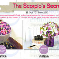 Read more about Far East Flora Scorpio's Secret Offers 23 Oct - 21 Nov 2013