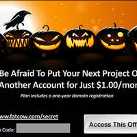 Read more about FatCow Web Hosting $1/mth Coupon Code (Lowest Ever!) With FREE Domain Name 17 - 31 Oct 2013