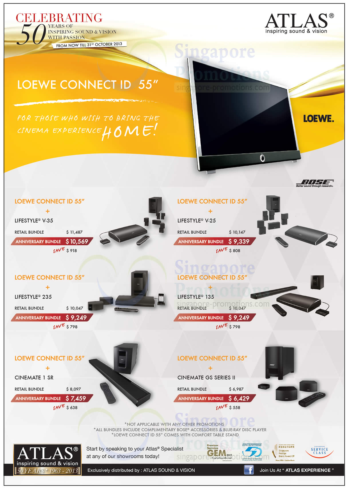 Loewe Connect ID 55 Packages