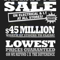 Read more about Courts Massive SALE @ All Outlets 26 - 27 Oct 2013