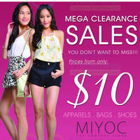 Read more about Miyoc Up To 70% OFF Mega Clearance SALE @ Orchard Central 1 - 3 Nov 2013