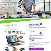 Read more about Acer Notebooks, Desktop PCs & Tablets Promotion Offers 18 Oct - 24 Nov 2013