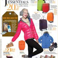 OG 23 Oct 2013 » OG 20% Off Winterwear & Luggage Travel Fair 24 ...