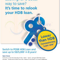 Read more about POSB HDB Loan Switch & Save Up To $25,000 Open House 5 Oct 2013