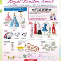 Read more about Royal Doulton 20% Off Event @ Isetan Scotts 11 - 24 Oct 2013
