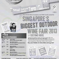 Read more about Singapore Wine Fiesta @ Customs House 31 Oct - 3 Nov 2013