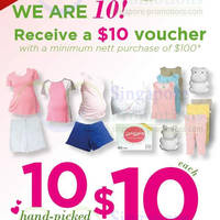 Read more about Spring Maternity & Baby Free $10 Voucher With $100 Purchase 10 - 20 Oct 2013