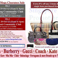 Read more about Surprisel Branded Handbags Sale Up To 75% Off 19 - 20 Oct 2013