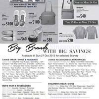 Read more about Takashimaya Brands SALE 9 - 27 Oct 2013