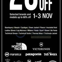 Read more about The Planet Traveller 20% Off Winter Wear Promo @ All Outlets 1 - 3 Nov 2013