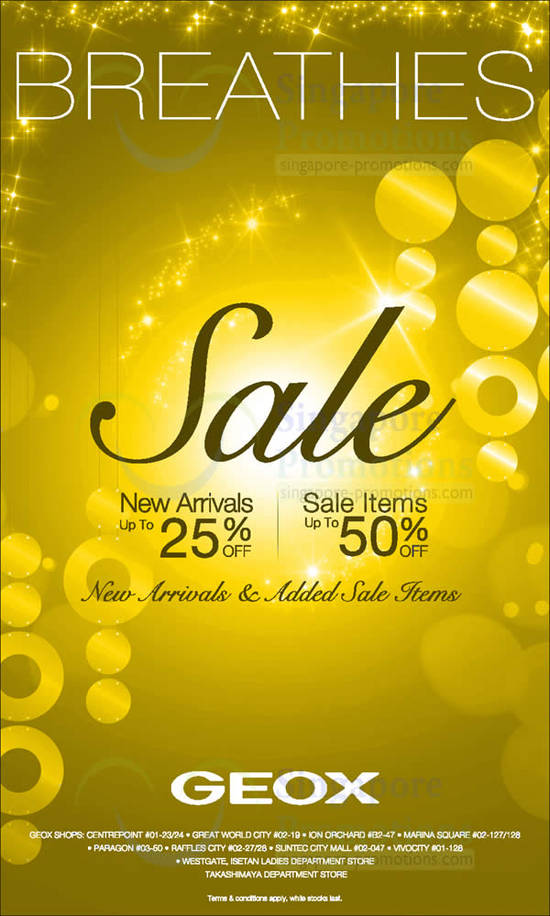 14 Dec Geox Sale Up to 50 Percent Off, New Sale Items, New Arrivals