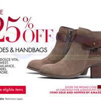 Read more about Amazon.com 25% OFF Shoes & Handbags Coupon Code 25 - 30 Nov 2013